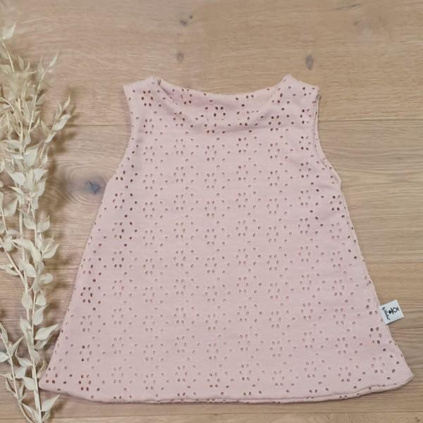 Rose Lochmuster - Jersey Kleid