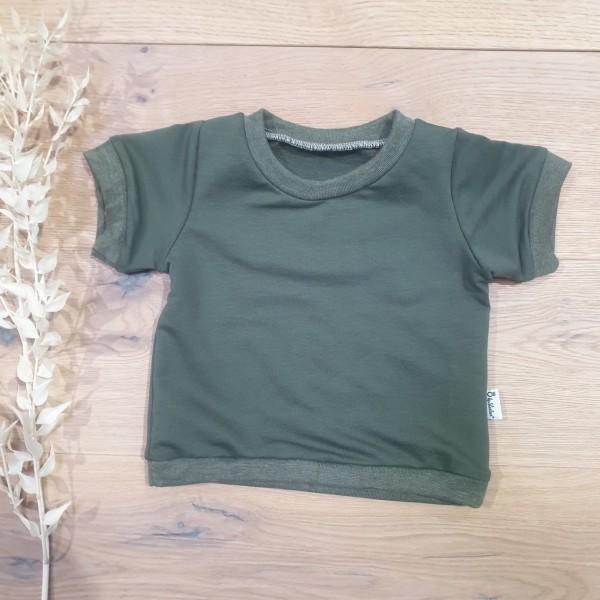 French Terry Khaki (Khaki Melange) - T-Shirt